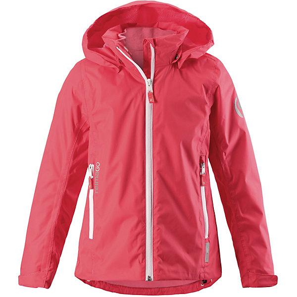 Куртка Tibia Reimatec® Reima для девочкиОдежда<br>Характеристики товара:<br><br>• цвет: красный;<br>• состав: 100% полиамид, полиуретановое покрытие;<br>• подкладка: 100% полиэстер;<br>• без дополнительного утепления;<br>• сезон: демисезон;<br>• температурный режим: от +5° до +15°С;<br>• водонепроницаемость: 5000 мм;<br>• воздухопроницаемость: 8000 мм;<br>• износостойкость: 15000 циклов (тест Мартиндейла);<br>• застёжка: молния с защитой подбородка;<br>• все швы проклеены и водонепроницаемы;<br>• внутренняя отстегивающаяся флисовая кофта с нагрудным карманом;<br>• подкладка из mesh-сетки;<br>• безопасный съёмный и регулируемый капюшон;<br>• эластичные манжеты на рукавах;<br>• регулируемый подол;<br>• карман с креплениями для сенсора ReimaGO®;<br>• карманы на молнии;<br>• светоотражающие детали;<br>• страна бренда: Финляндия.<br><br>Что удерживает ветер снаружи, но при этом дышит Ждет ли тебя увлекательный день в школе или веселое велосипедное путешествие по лесу – эта куртка для подростков из материала softshell станет нарядом номер один для ранней весенней поры! Водо- и ветронепроницаемой материал хорошо дышит и имеет грязеотталкивающую поверхность – отличное сочетание для холодных весенних дней и переменчивой погоды. <br><br>Безопасный съемный капюшон обеспечивает дополнительную защиту в дождливую погоду и легко отстегивается, если случайно за что-нибудь зацепится. А благодаря удобным карманам на молнии телефон и ключи от дома ни за что не потеряются. То, что нужно всем маленьким активным любителям приключений!<br><br>Куртку Reima от финского бренда Reima (Рейма) можно купить в нашем интернет-магазине.<br>Ширина мм: 356; Глубина мм: 10; Высота мм: 245; Вес г: 519; Цвет: красный; Возраст от месяцев: 36; Возраст до месяцев: 48; Пол: Женский; Возраст: Детский; Размер: 104,158,152,146,140,134,128,122,116,110; SKU: 7633962;