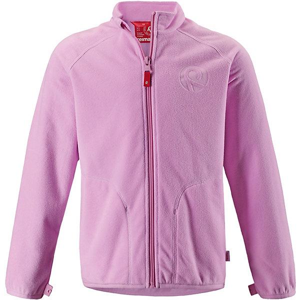Флисовая кофта Inrun ReimaФлис и термобелье<br>Характеристики товара:<br><br>• цвет: розовый;<br>• состав: 100% полиэстер, флис;<br>• сезон: демисезон;<br>• застёжка: молния с защитой подбородка;<br>• флисовая куртка для подростков;<br>• выводит влагу наружу;<br>• тёплый, лёгкий и быстросохнущий флис;<br>• может пристегиваться к верхней одежде Reima® кнопками Play Layers®;<br>• эластичные манжеты и подол;<br>• два боковых кармана;<br>• карман со специальными креплениями для сенсора ReimaGO® в моделях 104 размера и более;<br>• страна бренда: Финляндия.<br><br>Детская куртка из флиса идеально подойдет в качесте промежуточного слоя в холодную погоду, так как обеспечивает тепло, очень мягое и приятен коже. Эта куртка сделана из легкого дышащего флиса, быстро сохнет и обеспечивает комфорт во время активных прогулок. Молния на всю длину облегчает надевание, не царапает шею и подбородок. <br><br>Эта функциональная куртка из флиса легко подстегивается к любой верхней одежде Reima® с помощью специальных кнопок Play Layers®. Новинка в Play Layers® этой осени: двусторонняя молния позволяет легко застегивать и растегивать одежду. <br><br>Флисовую кофту Reima от финского бренда Reima (Рейма) можно купить в нашем интернет-магазине.<br>Ширина мм: 219; Глубина мм: 11; Высота мм: 262; Вес г: 314; Цвет: розовый; Возраст от месяцев: 132; Возраст до месяцев: 144; Пол: Унисекс; Возраст: Детский; Размер: 152,146,140,134,128,122,116,110,104,98,92,164,158; SKU: 7634218;