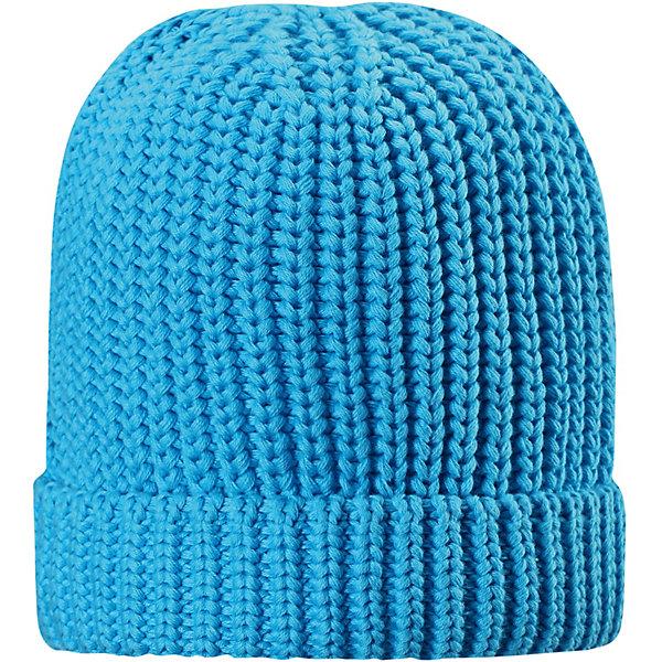 Шапка Uikku ReimaШапки и шарфы<br>Характеристики товара:<br><br>• цвет: голубой;<br>• состав: 100% хлопок;<br>• без подкладки;<br>• без дополнительного утепления;<br>• сезон: демисезон;<br>• температурный режим: от +5 до +15С;<br>• без застёжки;<br>• хлопчатобумажная ткань;<br>• лёгкий стиль, без подкладки;<br>• светоотражающие элементы;<br>• страна бренда: Финляндия.<br><br>Эта шапка – просто загляденье! Хлопковая шапка для подростков эластичная и дышащая, поэтому ее действительно удобно носить.<br><br>Шапку Reima от финского бренда Reima (Рейма) можно купить в нашем интернет-магазине.<br>Ширина мм: 89; Глубина мм: 117; Высота мм: 44; Вес г: 155; Цвет: синий; Возраст от месяцев: 18; Возраст до месяцев: 24; Пол: Унисекс; Возраст: Детский; Размер: 48,56,52; SKU: 7634282;
