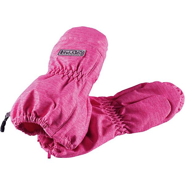 Варежки LassieПерчатки и варежки<br>Характеристики товара:<br><br>• цвет: розовый;<br>• состав: 100% полиэстер, полиуретановое покрытие;<br>• подкладка: 100% полиэстер, с начёсом;<br>• без дополнительного утепления;<br>• сезон: демисезон;<br>• температурный режим: от +5 до +15С;<br>• водонепроницаемость: 1000 мм;<br>• воздухопроницаемость: 2000 мм;<br>• износостойкость: 20000 циклов (тест Мартиндейла);<br>• застёжка: молния сбоку;<br>• водоотталкивающий, ветронепроницаемый и дышащий материал;<br>• обратите внимание, что изделие не является полностью водонепроницаемым;<br>• легко надевать благодаря молнии;<br>• подкладка из полиэстера с начёсом;<br>• светоотражающие элементы;<br>• страна бренда: Финляндия.<br><br>Весенние варежки для малышей в обновленном стиле теперь доступны и в классических расцветках, и в самых модных цветах этого сезона! Эти практичные варежки изготовлены из водонепроницаемого, ветронепроницаемого и дышащего материала. Трикотажная подкладка из полиэстера с начесом очень мягкая и приятная на ощупь. Обязательно обратите внимание на продуманные детали: застежку на молнии, благодаря которой варежки легко надевать, и светоотражатель сверху.<br><br>Варежки Lassie (Ласси) можно купить в нашем интернет-магазине.<br>Ширина мм: 162; Глубина мм: 171; Высота мм: 55; Вес г: 119; Цвет: розовый; Возраст от месяцев: 0; Возраст до месяцев: 12; Пол: Унисекс; Возраст: Детский; Размер: 0,2,1; SKU: 7635305;
