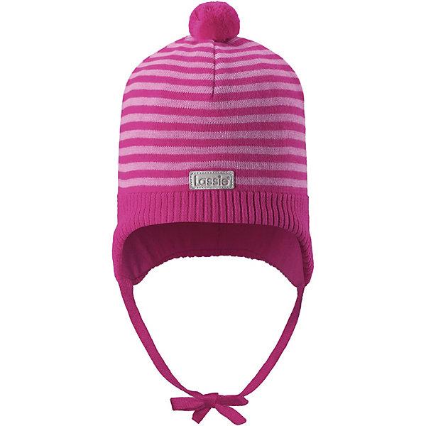 Шапка LassieДемисезонные<br>Характеристики товара:<br><br>• цвет: розовый;<br>• состав: 100% хлопок;<br>• подкладка: 97% хлопок, 3% эластан;<br>• без дополнительного утепления;<br>• сезон: демисезон;<br>• температурный режим: от +5 до +15С;<br>• застёжка: шапка на завязках;<br>• ветронепроницаемые вставки в области ушей;<br>• эластичная хлопчатобумажная ткань;<br>• сплошная подкладка: гладкий хлопковый трикотаж;<br>• светоотражающие элементы;<br>• страна бренда: Финляндия.<br><br>Очаровательная шапка для малышей! Она изготовлена из очень удобного эластичного материала на подкладке из гладкого хлопкового джерси. Ветронепроницаемые вставки в области ушей обеспечат тепло и уют в ветреную погоду, а завязки не дадут шапке сползать.<br><br>Шапку Lassie (Ласси) можно купить в нашем интернет-магазине.<br>Ширина мм: 89; Глубина мм: 117; Высота мм: 44; Вес г: 155; Цвет: розовый; Возраст от месяцев: 12; Возраст до месяцев: 24; Пол: Унисекс; Возраст: Детский; Размер: 44-46,50-52,46-48; SKU: 7635352;