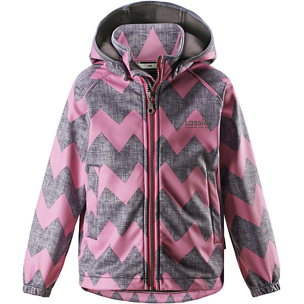 Куртка LassieОдежда<br>Характеристики товара:<br><br>• цвет: розовый;<br>• состав: 100% полиэстер, полиуретановое покрытие;<br>• подкладка: 100% полиэстер, флис;<br>• без дополнительного утепления;<br>• сезон: демисезон;<br>• температурный режим: от +5° до +15°С;<br>• водонепроницаемость: 5000 мм;<br>• воздухопроницаемость: 4000 мм;<br>• застёжка: молния с защитой подбородка;<br>• из ветронепроницаемого материала, но изделие дышит;<br>• все швы проклеены и водонепроницаемы;<br>• флис на оборотной стороне;<br>• безопасный съёмный капюшон;<br>• эластичная резинка на кромке капюшона;<br>• эластичные манжеты;<br>• два передних кармана;<br>• светоотражающие детали;<br>• страна бренда: Финляндия.<br><br>Куртка изготовлена из водоотталкивающей и ветрозащитной ткани. Материал отличается высокой устойчивостью к трению, благодаря специальной обработке полиуретаном поверхность изделия отталкивает грязь и воду, что облегчает поддержание аккуратного вида одежды, дышащее покрытие с изнаночной части не раздражает даже самую нежную и чувствительную кожу ребенка, обеспечивая ему наибольший комфорт. <br><br>Куртка застегивается на пластиковую застежку-молнию с защитой подбородка, благодаря чему ее легко надевать и снимать. Края рукавов дополнены неширокими эластичными манжетами. Спереди куртка дополнена двумя прорезными кармашками. Также модель дополнена светоотражающими элементами для безопасности в темное время суток. Все швы проклеены, не пропускают влагу и ветер.<br><br>Куртку Lassie (Ласси) можно купить в нашем интернет-магазине.<br>Ширина мм: 356; Глубина мм: 10; Высота мм: 245; Вес г: 519; Цвет: розовый; Возраст от месяцев: 18; Возраст до месяцев: 24; Пол: Женский; Возраст: Детский; Размер: 92,140,134,128,122,116,110,104,98; SKU: 7635661;