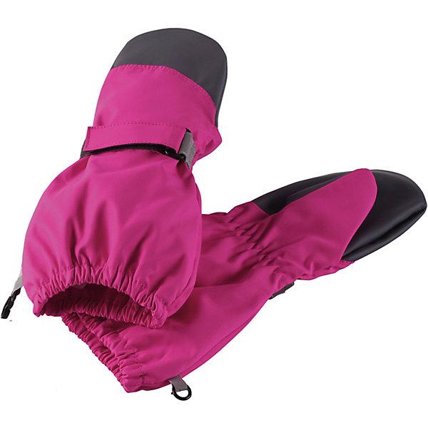 Варежки LassieПерчатки и варежки<br>Характеристики товара:<br><br>• цвет: розовый;<br>• состав: 100% полиэстер, полиуретановое покрытие;<br>• подкладка: 100% полиэстер, с начёсом;<br>• без дополнительного утепления;<br>• сезон: демисезон;<br>• температурный режим: от +5 до +15С;<br>• водонепроницаемость: 5000 мм;<br>• воздухопроницаемость: 5000 мм;<br>• износостойкость: 20000 циклов (тест Мартиндейла);<br>• застёжка: ремешок-утяжка на липучке;<br>• водоотталкивающий, ветронепроницаемый и грязеотталкивающий материал;<br>• усиленные вставки на ладонях и больших пальцах;<br>• подкладка из полиэстера с начёсом;<br>• сверхпрочный материал;<br>• светоотражающие элементы;<br>• страна бренда: Финляндия.<br><br>Прочные и водонепроницаемые детские демисезонные варежки для любителей активных приключений. Эти варежки Lassietec Suprafill® изготовлены из очень прочного, абсолютно водонепроницаемого, ветронепроницаемого, грязеотталкивающего, и в то же время дышащего материала. <br><br>Снабжены трикотажной подкладкой из полиэстера с начесом и водонепроницаемой мембраной, благодаря которой рукам будет сухо и тепло. Усиления на ладони и большом пальце не пропускают влагу, защищают руки и обеспечивают хороший захват. Сверху украшены светоотражающим принтом в виде логотипа.<br><br>Варежки Lassie (Ласси) можно купить в нашем интернет-магазине.<br>Ширина мм: 162; Глубина мм: 171; Высота мм: 55; Вес г: 119; Цвет: розовый; Возраст от месяцев: 72; Возраст до месяцев: 96; Пол: Унисекс; Возраст: Детский; Размер: 5,2,4,3; SKU: 7636012;