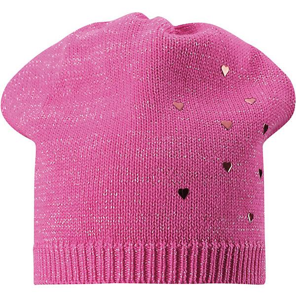 Шапка Lassie для девочкиШапки и шарфы<br>Характеристики товара:<br><br>• цвет: розовый;<br>• состав: 100% хлопок;<br>• без подкладки;<br>• без дополнительного утепления;<br>• сезон: демисезон;<br>• температурный режим: от +5 до +15С;<br>• без застёжки;<br>• эластичная хлопчатобумажная ткань;<br>• лёгкий стиль, без подкладки;<br>• светоотражающие элементы;<br>• страна бренда: Финляндия.<br><br>Красивая и легкая шапка в чудесных расцветках! Эластичная шапка изготовлена из хлопкового трикотажа и идет без подкладки – идеальный выбор на прохладный летний вечер.<br><br>Шапку Lassie (Ласси) можно купить в нашем интернет-магазине.<br>Ширина мм: 89; Глубина мм: 117; Высота мм: 44; Вес г: 155; Цвет: розовый; Возраст от месяцев: 36; Возраст до месяцев: 72; Пол: Женский; Возраст: Детский; Размер: 46-48,54-56,50-52; SKU: 7636065;