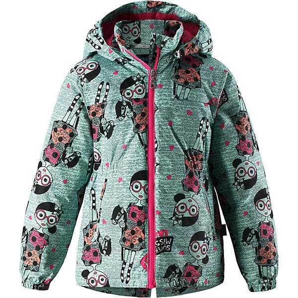Куртка Lassie для девочкиДемисезонные куртки<br>Характеристики товара:<br><br>• цвет: зелёный;<br>• состав: 100% полиэстер, полиуретановое покрытие;<br>• подкладка: 100% полиэстер;<br>• утеплитель: 100% полиэстер, 80 гр. м/2;<br>• сезон: демисезон;<br>• температурный режим: от -10° до +5°С;<br>• водонепроницаемость: 1000 мм;<br>• воздухопроницаемость: 2000 мм;<br>• износостойкость: 15000 циклов (тест Мартиндейла);<br>• застёжка: молния с защитой подбородка;<br>• водоотталкивающий, ветронепроницаемый и «дышащий» материал;<br>• подкладка из mesh-сетки;<br>• безопасный съёмный капюшон;<br>• эластичные манжеты;<br>• эластичная талия;<br>• два прорезных кармана;<br>• светоотражающие детали;<br>• страна бренда: Финляндия.<br><br>Стильная демисезонная куртка для девочек изготовлена из водоотталкивающего, ветронепроницаемого и дышащего материала. Гладкая и приятная на ощупь подкладка из полиэстера на легком утеплителе согревает и облегчает процесс одевания. Удлиненная модель для девочек с эластичной талией, подолом и манжетами. Практичные детали просто незаменимы: безопасный съемный капюшон, карманы, вшитые в боковые швы, и светоотражающая эмблема сзади. Получите безупречный вкус, простоту и качество, основанные на практичности.<br><br>Куртку Lassie (Ласси) можно купить в нашем интернет-магазине.<br>Ширина мм: 356; Глубина мм: 10; Высота мм: 245; Вес г: 519; Цвет: зеленый; Возраст от месяцев: 18; Возраст до месяцев: 24; Пол: Женский; Возраст: Детский; Размер: 92,140,134,128,122,116,110,104,98; SKU: 7637056;