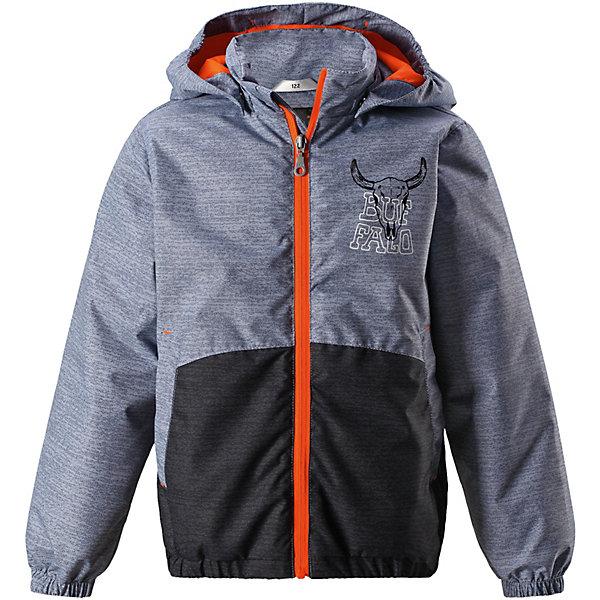 Куртка Lassie для мальчикаВерхняя одежда<br>Характеристики товара:<br><br>• цвет: серый/оранжевый;<br>• состав: 100% полиэстер, полиуретановое покрытие;<br>• подкладка: 100% полиэстер;<br>• утеплитель: 100% полиэстер, 80 гр. м/2;<br>• сезон: демисезон;<br>• температурный режим: от -10° до +5°С;<br>• водонепроницаемость: 1000 мм;<br>• воздухопроницаемость: 2000 мм;<br>• износостойкость: 20000 циклов (тест Мартиндейла);<br>• застёжка: молния с защитой подбородка;<br>• водоотталкивающий, ветронепроницаемый и «дышащий» материал;<br>• подкладка из mesh-сетки;<br>• безопасный съёмный капюшон;<br>• эластичные манжеты;<br>• регулируемый подол;<br>• два прорезных кармана;<br>• светоотражающие детали;<br>• страна бренда: Финляндия.<br><br>Удобная демисезонная куртка для мальчиков на утеплителе. Она изготовлена из водоотталкивающего и ветронепроницаемого, но при этом дышащего материала. Куртка снабжена легким утеплителем и гладкой, мягкой на ощупь подкладкой из полиэстера, которая облегчает одевание. Съемный капюшон обеспечивает защиту от холодного ветра, а также безопасен во время игр на свежем воздухе! Благодаря регулируемому подолу эта модель свободного покроя отлично сидит по фигуре. Снабжена множеством продуманных элементов, например, передними карманами и эластичными манжетами.<br><br>Куртку Lassie (Ласси) можно купить в нашем интернет-магазине.<br>Ширина мм: 356; Глубина мм: 10; Высота мм: 245; Вес г: 519; Цвет: серый; Возраст от месяцев: 48; Возраст до месяцев: 60; Пол: Мужской; Возраст: Детский; Размер: 110,140,134,128,122,116,104,98,92; SKU: 7637136;