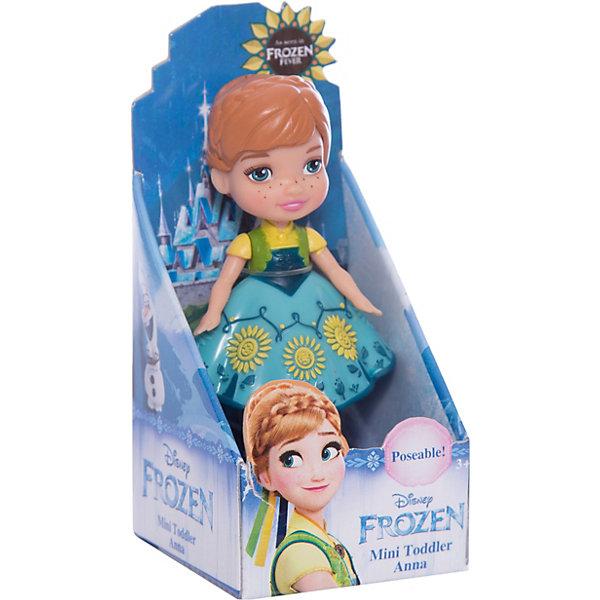 Disney Мини-кукла Холодное сердце Анна в зеленом платье, 7.5 см disney мини кукла холодное сердце эльза в голубом платье 7 5 см