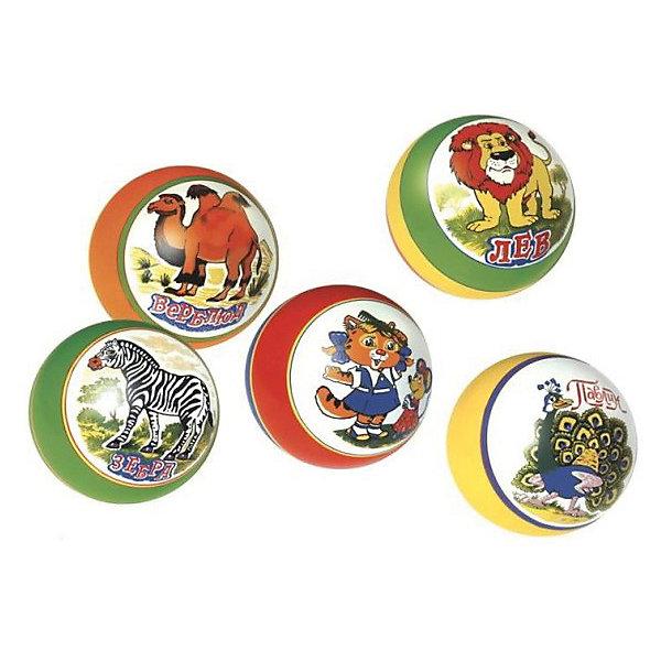 Мяч  с рисунком,15 смМячи детские<br>Характеристики:<br><br>• тип игрушки: мяч;<br>• возраст: от 3 лет;<br>• материал: резина;<br>• цвет: мультиколор;<br>• диаметр: 15 см;<br>• страна бренда: Россия;<br>• бренд: Чебоксарский завод;<br><br>Мяч  с рисунком,15 см будет надежным спутником компании детей на игровой площадке, пляже или в спортзале школы или садика. Игрушка выполнена из плотного, экологичного ПВХ ярких оттенков, который не лопается при ударе. <br> Глянцевое покрытие мячика лишь усилит яркость оттенков. Игрушка может быть использована в подвижных и развивающих играх, с целью развлечения групп детей и даже учителями в школе во время проведения физкультминуток в младшем звене. <br><br>Мяч  с рисунком,15 см можно купить в нашем интернет-магазине.<br>Ширина мм: 170; Глубина мм: 170; Высота мм: 170; Вес г: 25; Возраст от месяцев: 36; Возраст до месяцев: 2147483647; Пол: Унисекс; Возраст: Детский; SKU: 7684074;