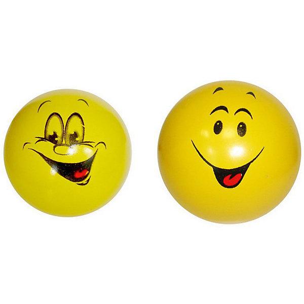 Мяч Мячи-Чебоксары Смайлики, 7,5 см,Мячи детские<br>Характеристики:<br><br>• тип игрушки: мяч;<br>• возраст: от 3 лет;<br>• материал: ПВХ;<br>• цвет: желтый;<br>• диаметр: 7,5 см;<br>• страна бренда: Россия;<br>• бренд: Чебоксарский завод;<br><br>Мяч Мячи-Чебоксары «Смайлики», 7,5 см очень высоко отскакивает от пола, что очень важно во многих подвижных играх. Продается мяч уже накаченным, а значит, вам не придется докупать для него насос и специальную насадку к нему. Легкий и прочный мячик подходит для игр как в помещении, так и на улице.<br><br>Мяч Мячи-Чебоксары «Смайлики», 7,5 см можно купить в нашем интернет-магазине.<br>Ширина мм: 75; Глубина мм: 75; Высота мм: 75; Вес г: 6; Возраст от месяцев: 36; Возраст до месяцев: 2147483647; Пол: Унисекс; Возраст: Детский; SKU: 7684104;