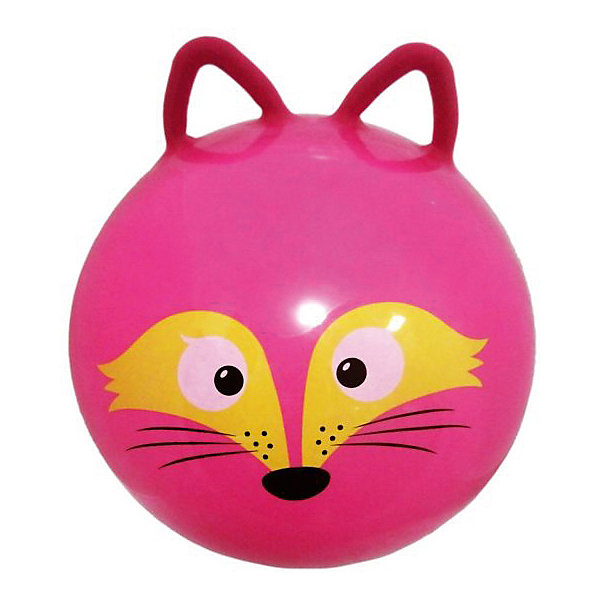 Moby Kids Мяч - прыгун с ушками Moby Kids Лисенок, 50 см