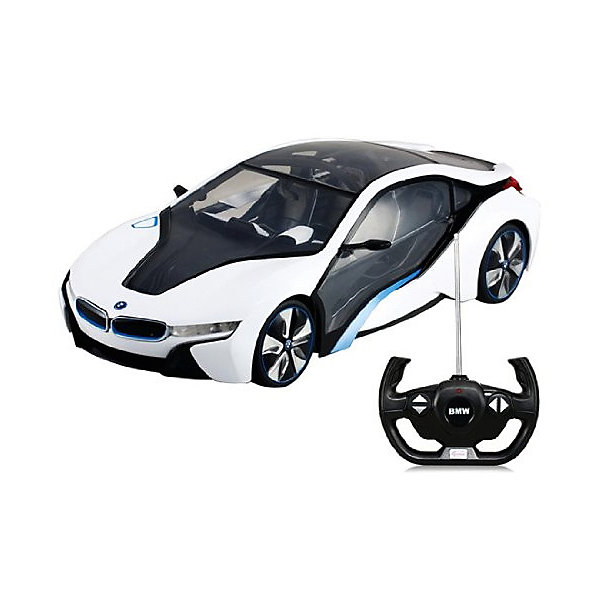 Rastar Радиоуправляемая машинка Rastar BMW i8, 1:14, белая eachlink i8 android 5 1 1 rk3229 kodi 4k tv box rii i8 black