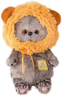 Мягкая игрушка Budi Basa Кот Басик Baby в шапке  лев, 20 см, артикул:7685908 - Мягкие игрушки