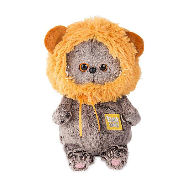 Мягкая игрушка Budi Basa Басик Baby в шапке - лев, 20 смМягкие игрушки-кошки<br>Характеристики:<br><br>• возраст: 3+;<br>• цвет: коричневый; <br>• высота игрушки: 20 см;<br>• материал: искусственный мех, текстиль, пластик;<br>• габариты упаковки: 21,5х15х11 см;<br>• тип упаковки: картонная коробка открытого типа;<br>• вес в упаковке: 240 г.<br><br>Басик – озорной котенок с милыми глазками, который очень любит игры и развлечения.<br><br>Веселый котенок выполнен из искусственного меха натуральных цветов. Материал очень нежный и приятный на ощупь. Благодаря комбинированной набивке, игрушку удобно держать в руках, играть и спать с ней.<br><br>Басик носит детскую шапочку на завязках в виде львиной гривы. Каждый котенок из коллекции имеет свой неповторимый стиль. <br><br>Симпатичный котик обязательно порадует не только малышей, но и взрослых. Мягкая игрушка в фирменной упаковке – хороший подарок к празднику.<br><br>Мягкую игрушку «Басик Baby в шапке - лев, 20 см», Budi Basa можно приобрести в нашем интернет-магазине.<br>Ширина мм: 215; Глубина мм: 150; Высота мм: 110; Вес г: 240; Цвет: коричневый; Возраст от месяцев: 36; Возраст до месяцев: 168; Пол: Унисекс; Возраст: Детский; SKU: 7685908;