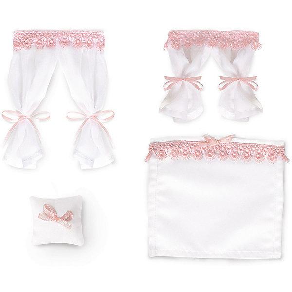 ЯиГрушка Набор текстиля для дома Одним прекрасным утром «Бело-розовый зефир»