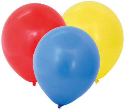 Воздушные шары ACTION! без рисунка 30см, 100шт, артикул:7686909 - Украшения для детского праздника