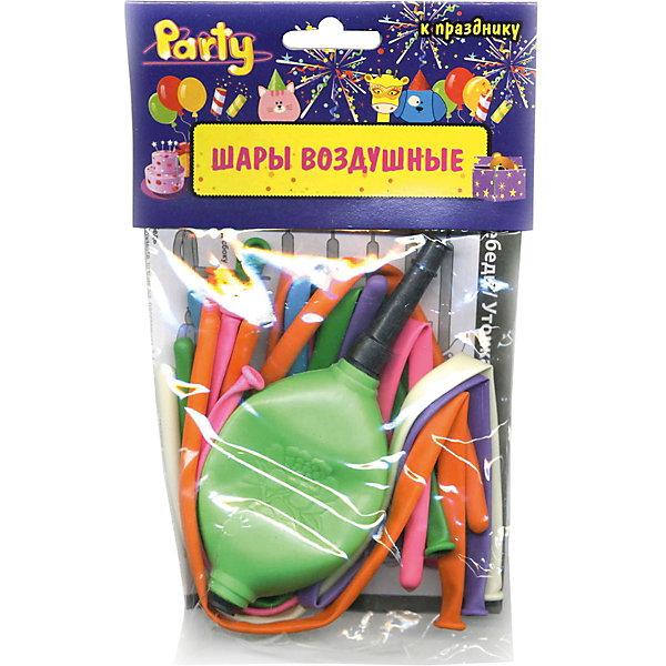 Воздушные шары ACTION! для моделирования с насосом, 10штВоздушные шары<br>Характеристики товара:<br><br>• возраст: от 3 лет;<br>• упаковка: пакет с подвесом;<br>• материал: латекс;<br>• цвет: ассорти;<br>• в упаковке 10 шт, насос;<br>• бренд: Action<br><br>Латексные фигурные воздушные шары для моделирования от бренда «Action!» позволят научиться моделировать из продолговатых шаров различные фигуры.<br><br>В наборе 10 разноцветных шариков и насос для накачки шаров воздухом. Занятия с такими шарами подарят заряд позитива и будут способствовать развитию малышей. А готовые фигуры (цветы, звери и другие) станут необычным украшением любого торжества.<br><br>Изделие выполнено из качественных материалов и абсолютно безопасно для детей. <br><br>Воздушные шары для моделирования с насосом «Action!» можно купить в нашем интернет-магазине.<br>Ширина мм: 100; Глубина мм: 10; Высота мм: 100; Вес г: 37; Возраст от месяцев: 36; Возраст до месяцев: 2147483647; Пол: Унисекс; Возраст: Детский; SKU: 7686915;