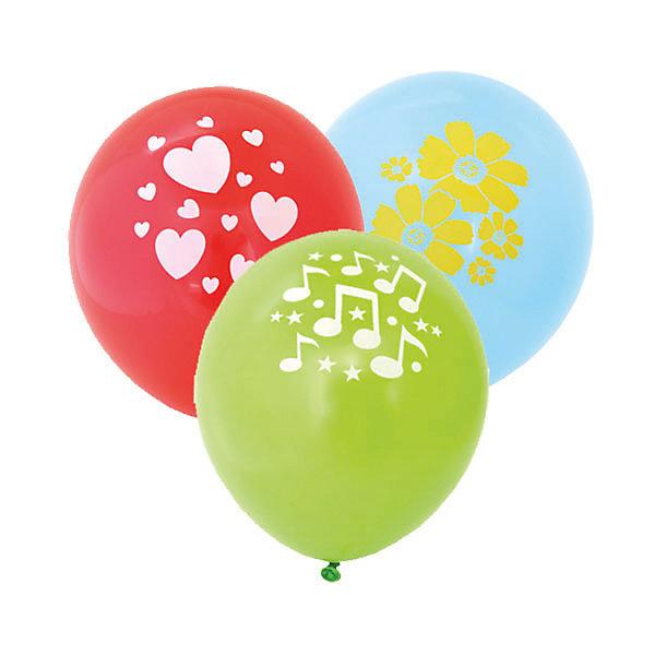 ACTION! Воздушные шары ACTION! с рисунком 30см, 100шт