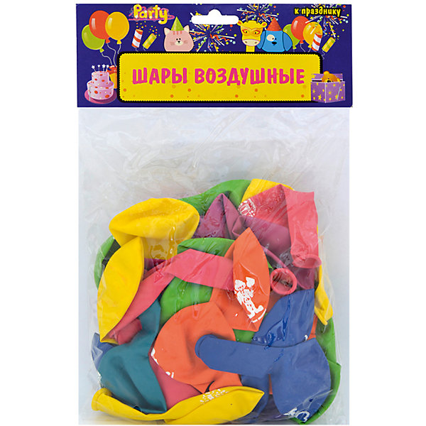 ACTION! Воздушные шары ACTION! С Днем Рождения! латексные без рисунка 25см, 50шт товары для праздника поиск воздушные шары с днем рождения 50 шт