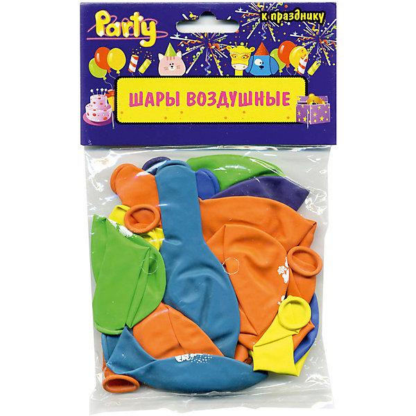ACTION! Воздушные шары ACTION! С Днем Рождения! 25см, 20шт товары для праздника поиск воздушные шары с днем рождения 50 шт