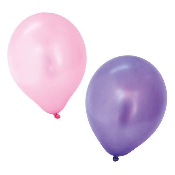 ACTION! Воздушные шары ACTION! с металлическим блеском 30см ,100шт