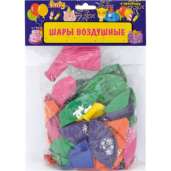 ACTION! Воздушные шары ACTION! С Днем Рождения! с рисунком 30см, 50шт action шары воздушные с днем рождения 30 см 50 шт