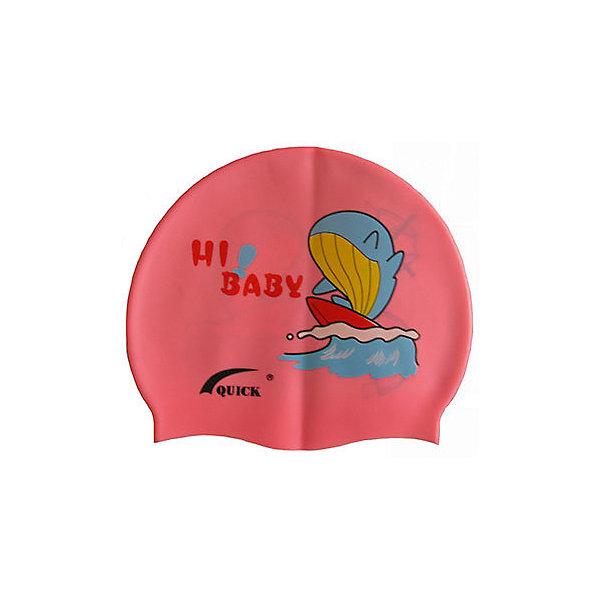 Dobest Силиконовая шапочка для плавания Dobest, с рисунком силиконовая шапочка для плавания взр