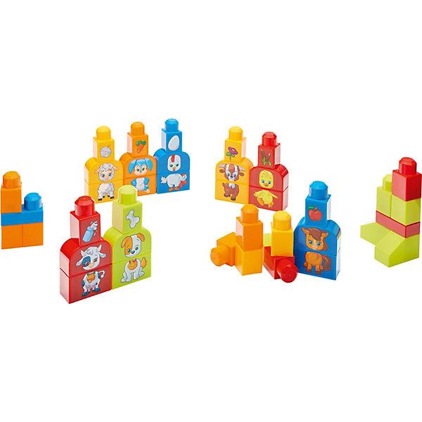 Mattel Обучающий конструктор Mega Bloks Изучаем животных обучающий конструктор mega bloks изучаем цвета