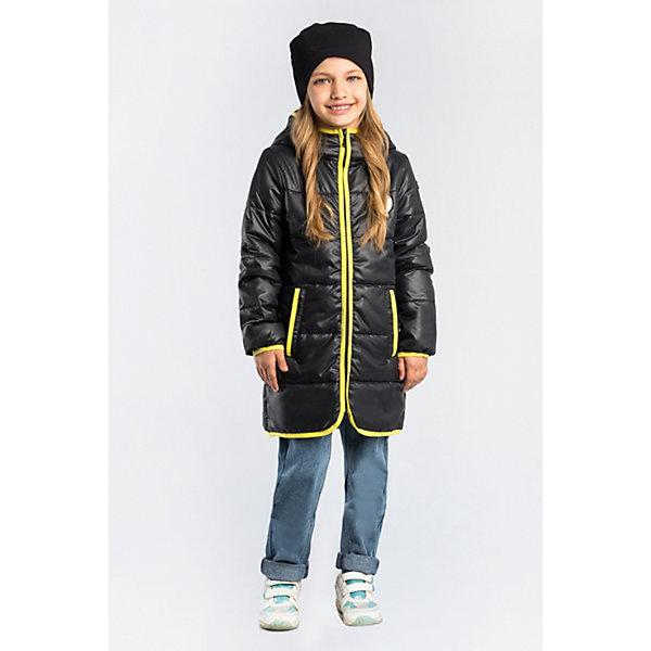 Пальто BOOM by Orby для девочкиВерхняя одежда<br>Характеристики товара:<br><br>• цвет: черный;<br>• ткань верха: таффета матовая (100% ПЭ);<br>• подкладка: поликоттон; ПЭ пуходержащий (90% хлопок, 10% ПЭ);<br>• утеплитель: Flexy Fiber 150 г/м2;<br>• сезон: демисезон;<br>• температурный режим: от -5 до +10°С;<br>• контрастная отделка края;<br>• два кармана;<br>• высокая горловина; <br>• особенности: нашивка на груди;<br>• тип куртки: пальто, стеганое;<br>• капюшон: с утяжкой на шнурке, несъемный;<br>• страна бренда: Россия.<br><br>Удлиненное пальто BOOM by Orby для девочки выполнено из практичной и износостойкой ткани, с контрастной отделкой края изделия, в актуалных цветах сезона. Гипоаллергенный утеплитель защитит в прохладную погоду. Модель обязательно станет любимицей детей и родителей, ведь в ней сочетаются стиль, доступность и практичность. Подходит к вещам в стиле casual и спорт, как для прогулок, так и для школы/сада.<br><br>Удлиненное пальто BOOM by Orby (Бум бай Орби) для мальчика можно купить в нашем интернет-магазине.<br>Ширина мм: 356; Глубина мм: 10; Высота мм: 245; Вес г: 519; Цвет: черный; Возраст от месяцев: 144; Возраст до месяцев: 156; Пол: Женский; Возраст: Детский; Размер: 158,110,104,98,170,164,152,146,140,134,128,122,116; SKU: 7708603;
