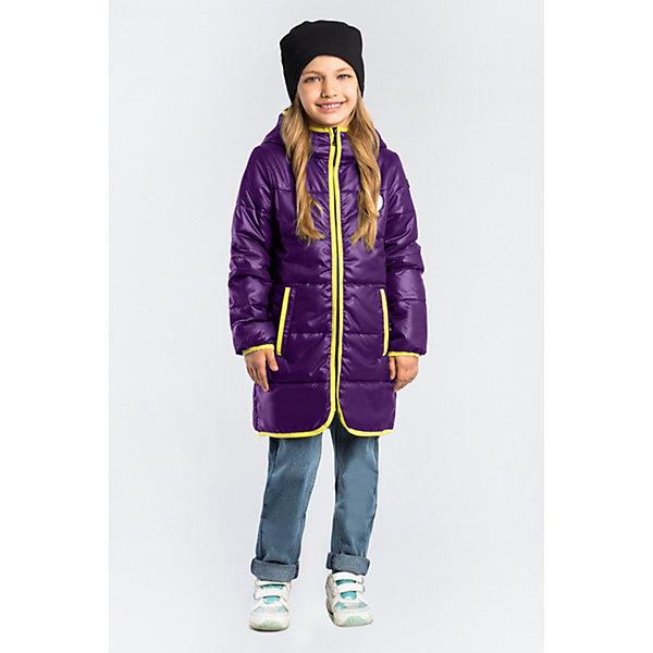 Пальто BOOM by Orby для девочкиВерхняя одежда<br>Характеристики товара:<br><br>• цвет: фиолетовый;<br>• ткань верха: таффета матовая (100% ПЭ);<br>• подкладка: поликоттон; ПЭ пуходержащий (90% хлопок, 10% ПЭ);<br>• утеплитель: Flexy Fiber 150 г/м2;<br>• сезон: демисезон;<br>• температурный режим: от -5 до +10°С;<br>• контрастная отделка края;<br>• два кармана;<br>• высокая горловина; <br>• особенности: нашивка на груди;<br>• тип куртки: пальто, стеганое;<br>• капюшон: с утяжкой на шнурке, несъемный;<br>• страна бренда: Россия.<br><br>Удлиненное пальто BOOM by Orby для девочки выполнено из практичной и износостойкой ткани, с контрастной отделкой края изделия, в актуалных цветах сезона. Гипоаллергенный утеплитель защитит в прохладную погоду. Модель обязательно станет любимицей детей и родителей, ведь в ней сочетаются стиль, доступность и практичность. Подходит к вещам в стиле casual и спорт, как для прогулок, так и для школы/сада.<br><br>Удлиненное пальто BOOM by Orby (Бум бай Орби) для мальчика можно купить в нашем интернет-магазине.<br>Ширина мм: 356; Глубина мм: 10; Высота мм: 245; Вес г: 519; Цвет: фиолетовый; Возраст от месяцев: 24; Возраст до месяцев: 36; Пол: Женский; Возраст: Детский; Размер: 164,158,152,146,140,98,134,170,128,122,116,110,104; SKU: 7708617;