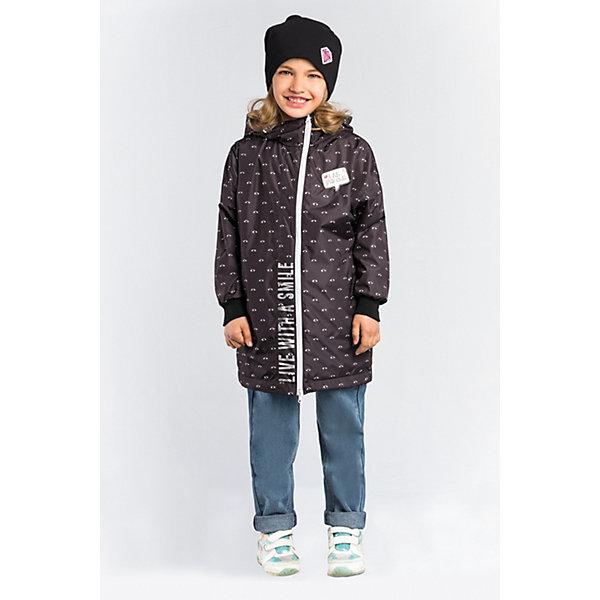 Плащ BOOM by Orby для девочкиВерхняя одежда<br>Характеристики товара:<br><br>• цвет: черный/принт  глазки ;<br>• ткань верха: нейлон жатка (100% ПЭ);<br>• подкладка: флис;<br>• сезон: демисезон;<br>• температурный режим: от -5 до +10°С;<br>• регулируемая талия на шнурке;<br>• два кармана;<br>• эластичная утяжка на рукавах;<br>• особенности: на молнии, нашивки на груди, принт;<br>• тип: плащ;<br>• капюшон: несъемный;<br>• страна бренда: Россия.<br><br>Плащ BOOM by Orby для девочки с флисовой подкладкой идеален для прогулок в межсезонье или прохладными летними вечерами. Модель создана специально так, чтобы подходить к любому стилю: деловому, спортивному, casual. Модный дизайн и комфорт непримерно понравятся вашему ребенку.  Легкий утепленный плащ с яркими нашивками на груди и веселым принтом  глазки  - все это, сделает модель любимой вещь вашей маленькой модницы. <br><br>Плащ BOOM by Orby (Бум бай Орби) для девочки можно купить в нашем интернет-магазине.<br>Ширина мм: 356; Глубина мм: 10; Высота мм: 245; Вес г: 519; Цвет: черный; Возраст от месяцев: 168; Возраст до месяцев: 180; Пол: Женский; Возраст: Детский; Размер: 170,116,164,158,152,146,140,134,128,122; SKU: 7708649;