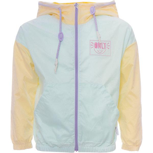 Куртка BOOM by Orby для девочкиВерхняя одежда<br>Характеристики товара:<br><br>• цвет:желтый/мятный;<br>• ткань верха: транспарент (100% ПЭ);<br>• подкладка: поликоттон, ПЭ пуходержащий (90% хлопок, 10% ПЭ);<br>• сезон: демисезон;<br>• температурный режим: от +10°С;<br>• эластичные манжеты;<br>• два кармана;<br>• дополнительная утяжка по низу изделия; <br>• разноцветная подкладка; <br>• особенности: контрастная молния, нашивка на груди;<br>• тип куртки: ветровка;<br>• капюшон: с утяжкой на шнурке, несъемный;<br>• страна бренда: Россия.<br><br>Ветровка BOOM by Orby для девочки -  универсальный вариант и для прохладного летнего вечера, и для теплого межсезонья.  Изюминкой этой модели является оригинальная полупрозрачная ткань верха - транспарент, а также мягкая хлопковая разноцветная подкладка. Легкая, яркая ветровка идеально сочетается с вещами в стиле casual: джинсы или брюки чинос, полуботинки и шапки-бини. Стильный дизайн, комфорт и яркие цвета непримерно понравятся вашей моднице. <br><br>Ветровку BOOM by Orby (Бум бай Орби) для девочки можно купить в нашем интернет-магазине.<br>Ширина мм: 356; Глубина мм: 10; Высота мм: 245; Вес г: 519; Цвет: желтый; Возраст от месяцев: 12; Возраст до месяцев: 18; Пол: Женский; Возраст: Детский; Размер: 86,158,152,146,140,134,128,122,116,110,104,98,92; SKU: 7708934;