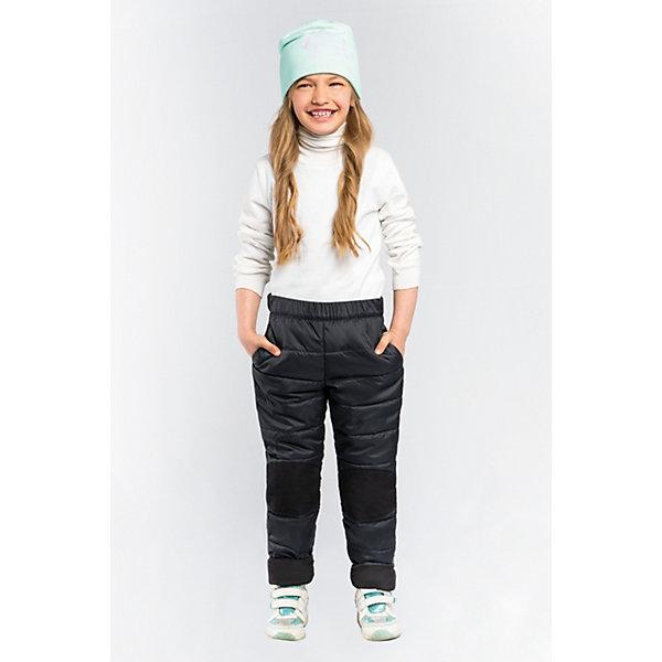 Брюки BOOM by Orby для девочкиВерхняя одежда<br>Характеристики товара:<br><br>• цвет: черный;<br>• ткань верха: таффета стеганая (100% ПЭ);<br>• отделка: таслан pu milky (100% ПЭ);<br>• подкладка: поликоттон; ПЭ пуходержащий  (90% хлопок, 10% ПЭ);<br>• утеплитель: Flexy Fiber 80 г/м2;<br>• сезон: демисезон;<br>• температурный режим: от -5 до +10°С;<br>• усиленная зона коленей;<br>• два кармана;<br>• тип: стеганые;<br>• модель: зауженные;<br>• страна бренда: Россия.<br><br>Брюки BOOM by Orby для девочки - - незаменимая вещь на межсезонье. Зона коленей усилена износостойкой тканью таслан для защиты от истирания. Стильная, слегка зауженная к низу модель. Теплые стеганые брюки - идеальный вариант для прогулок, сочетаемый с большим количеством верхней одежды и обувью.<br><br>Брюки BOOM by Orby (Бум бай Орби) для девочки можно купить в нашем интернет-магазине.<br>Ширина мм: 215; Глубина мм: 88; Высота мм: 191; Вес г: 336; Цвет: черный; Возраст от месяцев: 12; Возраст до месяцев: 18; Пол: Женский; Возраст: Детский; Размер: 86,158,152,146,140,134,128,122,116,110,104,98,92; SKU: 7708976;