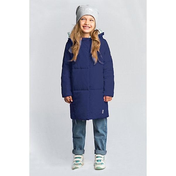 Купить Пальто BOOM by Orby для девочки, Россия, синий, Женский