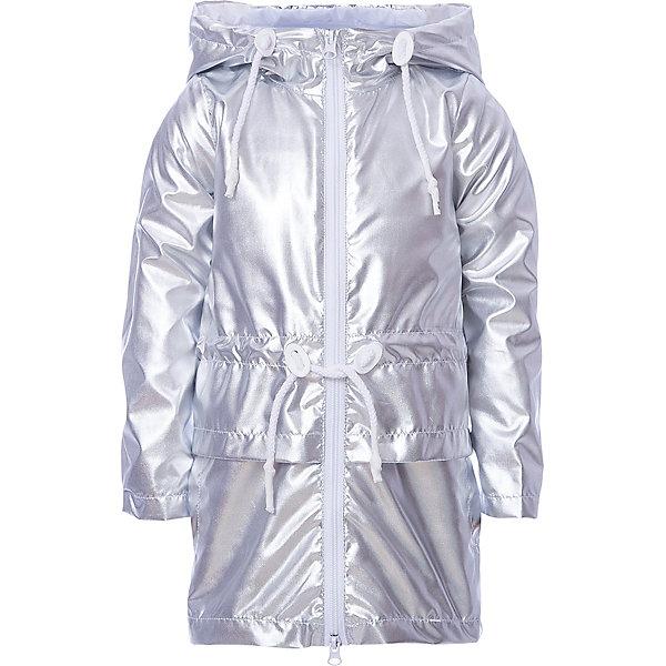 Плащ BOOM by Orby для девочкиВерхняя одежда<br>Характеристики товара:<br><br>• цвет: серебро;<br>• ткань верха: таффета milky принт; таффета oil cire (100% ПЭ);<br>• подкладка: флис, ПЭ пуходержащий (100% ПЭ);<br>• сезон: демисезон;<br>• температурный режим: от -5 до +10°С;<br>• регулируемая талия на шнурке;<br>• два кармана;<br>• высокая горловина;<br>• особенности: на молнии, нашивка на рукаве, принт;<br>• тип: плащ;<br>• капюшон: несъемный, утяжка на шнурке;<br>• страна бренда: Россия.<br><br>Плащ BOOM by Orby для девочки на флисовой подкладке идеален для прогулок в межсезонье или прохладными летними вечерами. Модель создана специально так, чтобы подходить к любому стилю: деловому, спортивному, casual. Модный дизайн и комфорт непримерно понравятся вашему ребенку.  Легкий утепленный плащ с ярким цветом - все это, сделает модель любимой вещью вашей маленькой модницы. <br><br>Плащ BOOM by Orby (Бум бай Орби) для девочки можно купить в нашем интернет-магазине.<br>Ширина мм: 356; Глубина мм: 10; Высота мм: 245; Вес г: 519; Цвет: серый; Возраст от месяцев: 12; Возраст до месяцев: 18; Пол: Женский; Возраст: Детский; Размер: 86,152,146,140,134,128,110,122,116,104,98,92,158; SKU: 7709236;