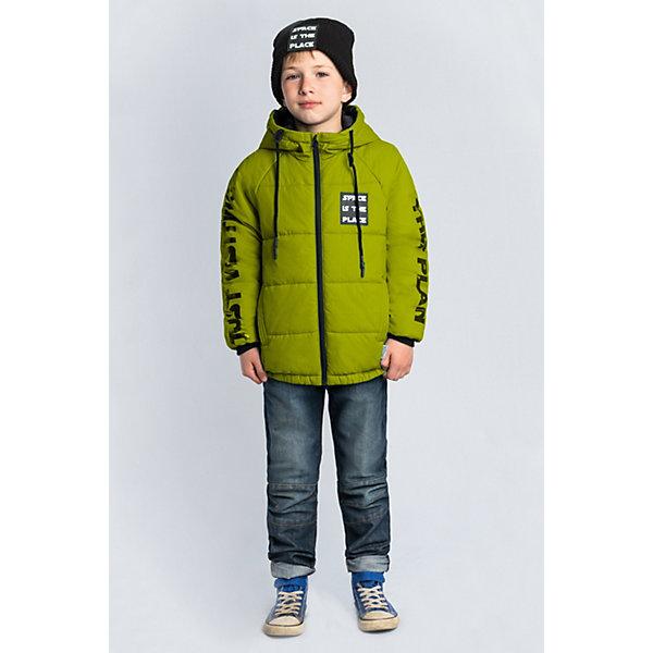 Куртка BOOM by Orby для мальчикаВерхняя одежда<br>Характеристики товара:<br><br>• цвет: салатовый;<br>• ткань верха: таффета rip-stop pu (100% ПЭ);<br>• подкладка: поликоттон; ПЭ пуходержащий (90% хлопок, 10% ПЭ)<br>• утеплитель: Flexy Fiber 150 г/м2;<br>• сезон: демисезон;<br>• температурный режим: от -5 до +10°С;<br>• эластичные манжеты;<br>• два кармана;<br>• дополнительная утяжка по низу изделия; <br>• особенности: на молнии, принт, нашивка на груди;<br>• тип куртки: стеганая;<br>• капюшон: с утяжкой на шнурке, несъемный;<br>• страна бренда: Россия.<br><br>Куртка BOOM by Orby для мальчика выполнена из практичной и износостойкой ткани, с оригинальными дизайнерскими элементами, в актуалных цвета сезона. Гипоаллергенный утеплитель защитит в прохладную погоду. Модель обязательно станет любимицей детей и родителей, ведь в неё сочетаются стиль, доступность и практичность. Идеально сочетается с вещами в стиле casual и спорт: джинсы или брюки чинос, полуботинки и шапки-бини. <br><br>Куртку BOOM by Orby (Бум бай Орби) для мальчика можно купить в нашем интернет-магазине.<br>Ширина мм: 356; Глубина мм: 10; Высота мм: 245; Вес г: 519; Цвет: светло-зеленый; Возраст от месяцев: 60; Возраст до месяцев: 72; Пол: Мужской; Возраст: Детский; Размер: 116,170,164,158,152,146,140,134,128,122; SKU: 7709390;