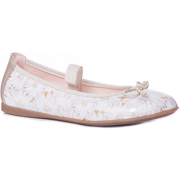 Pablosky Балетки Pablosky для девочки балетки для девочки worldcolors цвет золотой 027 023g размер 33 34