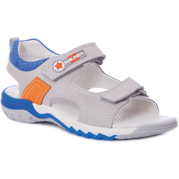 Pablosky Сандалии Pablosky для мальчика сандалии детские pablosky pablosky сандалии открытые белое серебро