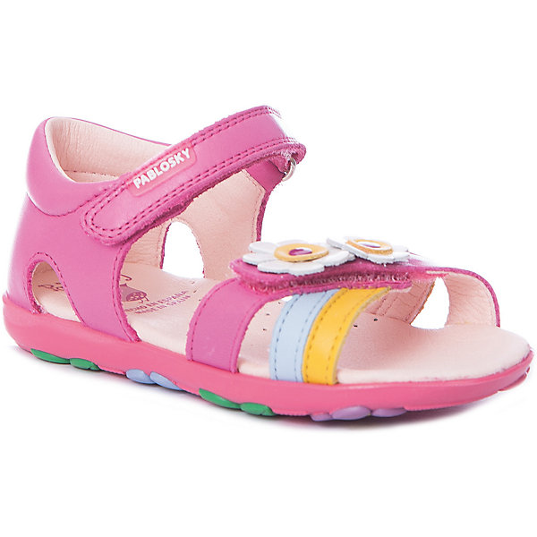 Pablosky Сандалии Pablosky босоножки barkito сандалеты для девочки barkito фуксия