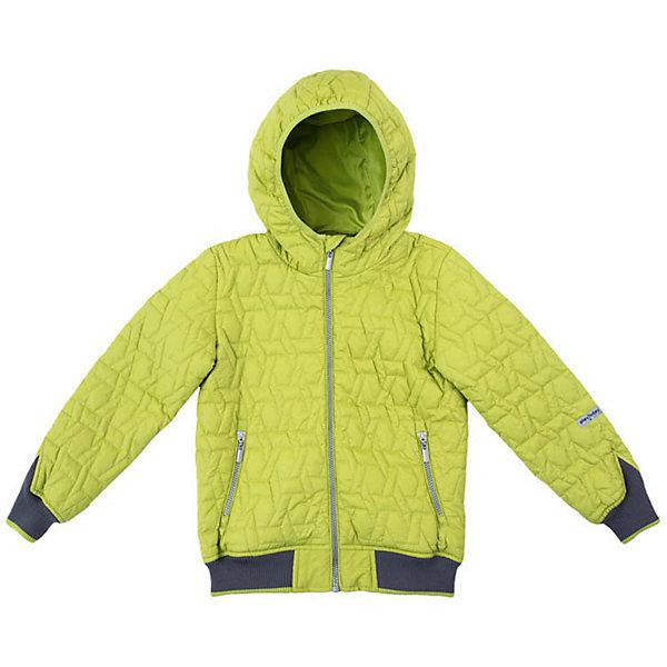 Куртка PlayToday для мальчикаДемисезонные куртки<br>Характеристики товара:<br><br>• цвет: салатовый;<br>• состав ткани: 100% нейлон;<br>• подкладка: 100% полиэстер;<br>• утеплитель: 100% полиэстер, 100 г/м2;<br>• сезон: демисезон;<br>• температурный режим: от -5 до +10С;<br>• застёжка: молния с защитой подбородка;<br>• водонепроницаемая ткань;<br>• капюшон не отстёгивается;<br>• окантовка капюшона с мягкой резинкой;<br>• стёганая куртка;<br>• манжеты рукавов и низ куртки на мягкой трикотажной резинке;<br>• светоотражающие детали;<br>• два кармана на молнии;<br>• коллекция: Рок-звезда;<br>• страна бренда: Германия.<br><br>Утепленная стеганая куртка выполнена из водонепроницаемой ткани. Встрочной капюшон по контуру лицевой части дополнен мягкой резинкой. Модель на молнии. Специальный карман для фиксации бегунка не позволит застежке травмировать нежную детскую кожу. <br><br>Манжеты и низ изделия на плотных трикотажных резинках для дополнительного сохранения тепла. Встрочные карманы на молнии. Светоотражатель обеспечит безопасность ребенка в темное время суток.<br><br>Куртку PlayToday (ПлэйТудэй) можно купить в нашем интернет-магазине.<br>Ширина мм: 356; Глубина мм: 10; Высота мм: 245; Вес г: 519; Цвет: зеленый; Возраст от месяцев: 36; Возраст до месяцев: 48; Пол: Мужской; Возраст: Детский; Размер: 104,146/152,134/140,122,110,116,128; SKU: 7713936;