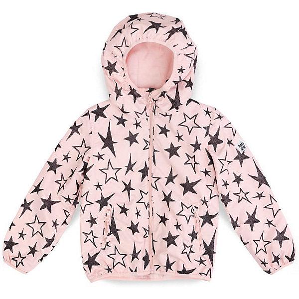Куртка PlayToday для девочкиВерхняя одежда<br>Характеристики товара:<br><br>• цвет: розовый;<br>• состав ткани: 100% нейлон;<br>• подкладка: 100% полиэстер, флис;<br>• без дополнительного утепления;<br>• сезон: демисезон;<br>• температурный режим: от +10С;<br>• застёжка: молния с защитой подбородка;<br>• водонепроницаемая ткань;<br>• капюшон не отстёгивается;<br>• мягкая резинка по краю капюшона;<br>• манжеты рукавов и низ изделия на мягкой трикотажной резинке;<br>• два кармана на молнии;<br>• светоотражающие детали;<br>• коллекция: Рок-принцесса;<br>• страна бренда: Германия.<br><br>Куртка из водоотталкивающей ткани. Модель на молнии. Специальный карман для фиксации бегунка не позволит застежке травмировать нежную детскую кожу. Встрочной капюшон с высоким горлом. Манжеты и низ изделия на мягких трикотажных резинках. Куртка декорирована глиттерными принтами. Дополнена встрочными карманами на молнии. Светоотражатель обеспечит видимость ребенка в темное время суток.<br><br>Куртку PlayToday (ПлэйТудэй) можно купить в нашем интернет-магазине.<br>Ширина мм: 356; Глубина мм: 10; Высота мм: 245; Вес г: 519; Цвет: розовый; Возраст от месяцев: 36; Возраст до месяцев: 48; Пол: Женский; Возраст: Детский; Размер: 104,146/152,134/140,122,110,116,128; SKU: 7714119;