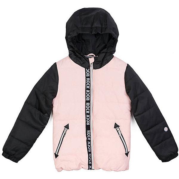Куртка PlayToday для девочкиДемисезонные куртки<br>Характеристики товара:<br><br>• цвет: розовый/чёрный;<br>• состав ткани: 100% полиэстер;<br>• подкладка: 100% полиэстер;<br>• утеплитель: 100% полиэстер, 200 г/м2;<br>• сезон: демисезон;<br>• температурный режим: от -7 до +5С;<br>• застёжка: молния с защитой подбородка;<br>• водонепроницаемая ткань;<br>• капюшон не отстёгивается;<br>• мягкая резинка по краю капюшона;<br>• низ куртки на мягкой трикотажной резинке;<br>• светоотражающие детали;<br>• два кармана на молнии;<br>• коллекция: Рок-принцесса;<br>• страна бренда: Германия.<br><br>Утепленная стеганая куртка выполнена из водонепроницаемой ткани. Встрочной капюшон по контуру дополнен резинкой. Модель на молнии. Специальный карман для фиксации бегунка не позволит застежке травмировать нежную детскую кожу. Встрочные карманы на молнии. Низ куртки на резинке для дополнительного сохранения тепла. Светоотражатели обеспечать видимость ребенка в темное время суток.<br><br>Куртку PlayToday (ПлэйТудэй) можно купить в нашем интернет-магазине.<br>Ширина мм: 356; Глубина мм: 10; Высота мм: 245; Вес г: 519; Цвет: розовый; Возраст от месяцев: 36; Возраст до месяцев: 48; Пол: Женский; Возраст: Детский; Размер: 104,146/152,134/140,122,110,116,128; SKU: 7714143;