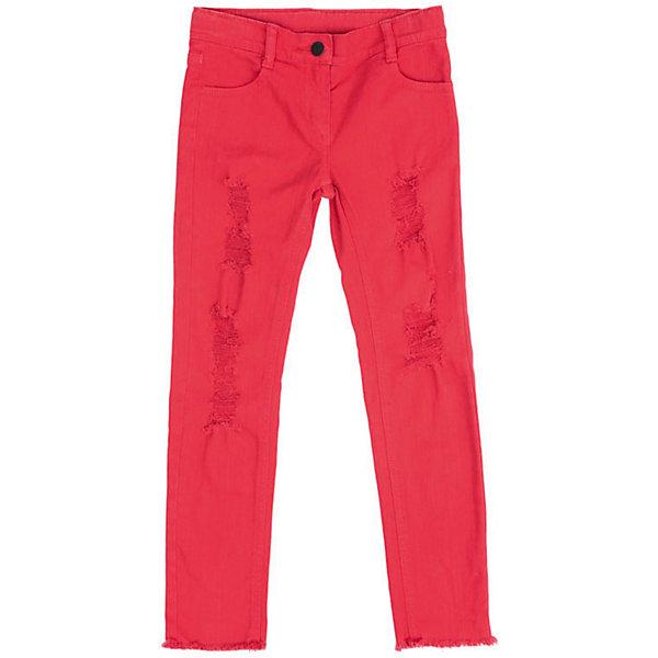 PlayToday Джинсы PlayToday для девочки брюки джинсы и штанишки playtoday брюки текстильные для мальчиков пульс лондона 371012