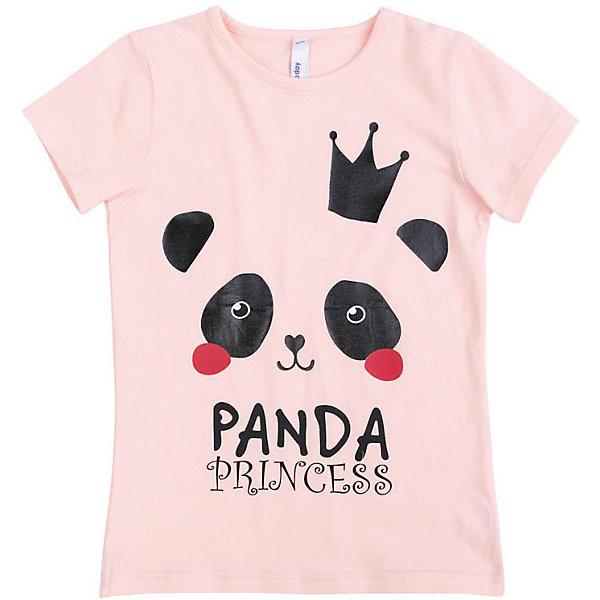Футболка PlayToday для девочкиФутболки, поло и топы<br>Характеристики товара:<br><br>• цвет: розовый;<br>• состав ткани: 95% хлопок, 5% эластан;<br>• сезон: лето;<br>• заниженная спинка;<br>• декорирована принтом с пандой;<br>• коллекция: Рок-принцесса;<br>• страна бренда: Германия.<br><br>Футболка выполнена из натурального материала. В качестве декора использован глиттерный принт. Свободный крой не сковывает движений.<br><br>Футболку PlayToday (ПлэйТудэй) можно купить в нашем интернет-магазине.<br>Ширина мм: 199; Глубина мм: 10; Высота мм: 161; Вес г: 151; Цвет: розовый; Возраст от месяцев: 36; Возраст до месяцев: 48; Пол: Женский; Возраст: Детский; Размер: 104,146/152,134/140,122,116,110,128; SKU: 7714278;
