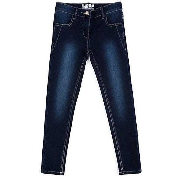 PlayToday Брюки PlayToday для девочки брюки джинсы и штанишки playtoday брюки текстильные для мальчиков пульс лондона 371012