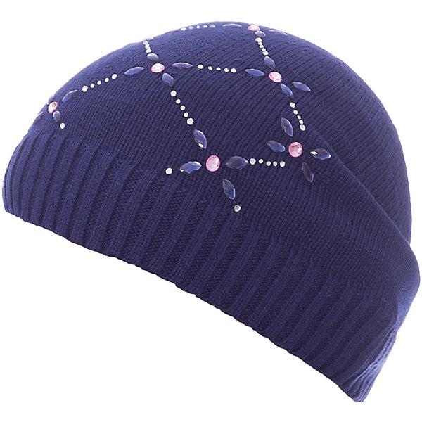 Шапка PlayToday для девочкиДемисезонные<br>Характеристики товара:<br><br>• цвет: тёмно-синий;<br>• состав ткани: 60% хлопок, 40% акрил;<br>• без дополнительного утепления;<br>• сезон: демисезон;<br>• температурный режим: от +5С;<br>• вязаная шапка;<br>• декорирована аппликацией из страз;<br>• коллекция: Утро в Париже;<br>• страна бренда: Германия.<br><br>Однослойная вязаная шапка без завязок, из ткани с высоким содержанием натурального хлопка. Хорошо облегает голову. Декорирована аппликацией из страз.<br><br>Шапку PlayToday (ПлэйТудэй) можно купить в нашем интернет-магазине.<br>Ширина мм: 89; Глубина мм: 117; Высота мм: 44; Вес г: 155; Цвет: темно-синий; Возраст от месяцев: 84; Возраст до месяцев: 96; Пол: Женский; Возраст: Детский; Размер: 54,52,56; SKU: 7714576;