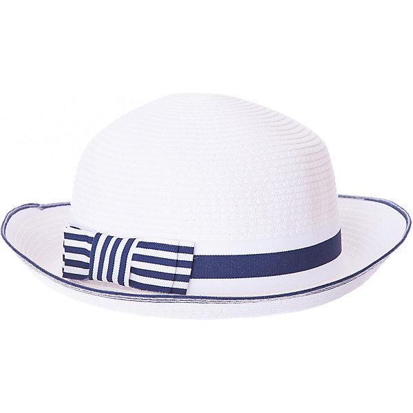Шляпа PlayToday для девочкиГоловные уборы<br>Характеристики товара:<br><br>• цвет: белый;<br>• состав ткани: 100% бумажная соломка;<br>• классическая шляпа;<br>• декорирована лентой с бантиком;<br>• коллекция: Пионы;<br>• страна бренда: Германия.<br><br>Классическая шляпа с небольшими полями из бумажной соломки. Модель декорирована широкой лентой<br><br>Шляпу PlayToday (ПлэйТудэй) можно купить в нашем интернет-магазине.<br>Ширина мм: 89; Глубина мм: 117; Высота мм: 44; Вес г: 155; Цвет: белый; Возраст от месяцев: 48; Возраст до месяцев: 60; Пол: Женский; Возраст: Детский; Размер: 52,56,54; SKU: 7715111;