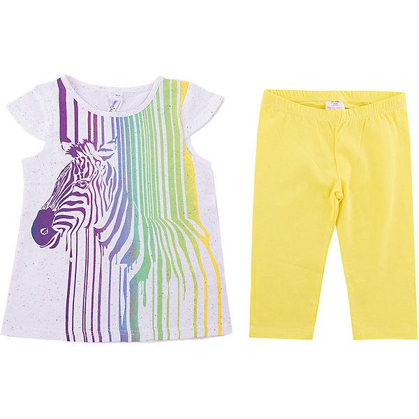 PlayToday Комплект PlayToday для девочки шорты для девочки bj8603l жёлтый byblos