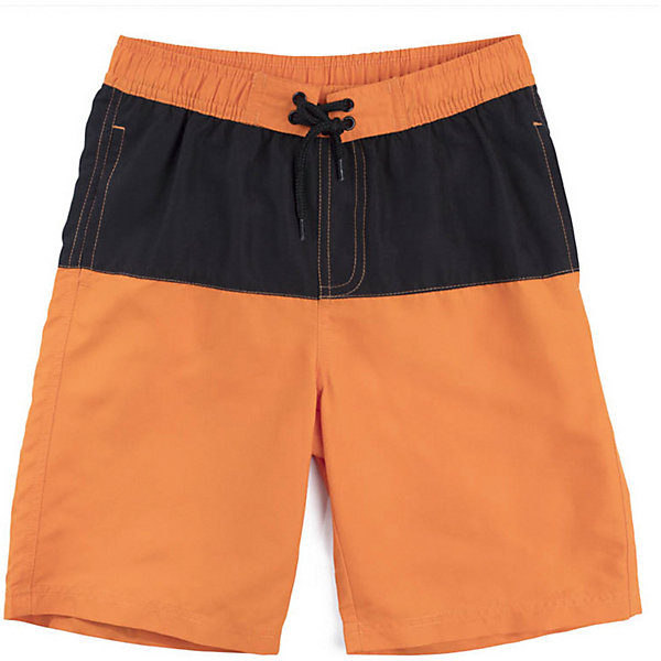 Шорты-плавки PlayToday для мальчикаКупальники и плавки<br>Характеристики товара:<br><br>• цвет: оранжевый/чёрный;<br>• состав ткани: 100% полиэстер;<br>• сезон: лето;<br>• застёжка: пояс на резинке с шнурком-утяжкой;<br>• быстросохнущая ткань;<br>• сетчатая подкладка;<br>• карманы;<br>• коллекция: Летний турнир;<br>• страна бренда: Германия.<br><br>Плавки - шорты выполнены из быстросохнущей ткани. Изнутри предусмотрена сетчатая подкладка. Пояс на широкой резинке не сдавливающей живот ребенка, дополнен регулируемым шнуром - кулиской. Модель с встрочными карманами.<br><br>Шорты-плавки PlayToday (ПлэйТудэй) можно купить в нашем интернет-магазине.<br>Ширина мм: 183; Глубина мм: 60; Высота мм: 135; Вес г: 119; Цвет: оранжевый; Возраст от месяцев: 36; Возраст до месяцев: 48; Пол: Мужской; Возраст: Детский; Размер: 104,146/152,134/140,122,110,116,128; SKU: 7716718;