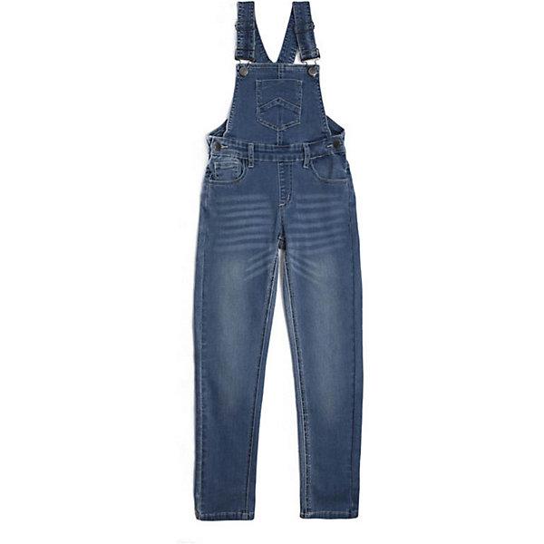 PlayToday Полукомбинезон джинсовый  для девочки