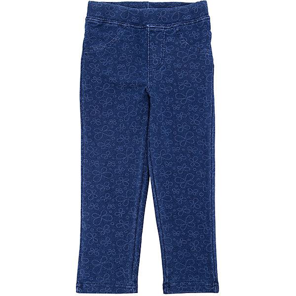 Брюки PlayToday для девочкиБрюки<br>Характеристики товара:<br><br>• цвет: синий;<br>• состав ткани: 95% хлопок, 5% эластан;<br>• сезон: лето;<br>• застёжка: пояс на резинке;<br>• два накладных кармана сзади;<br>• декорированы цветочным принтом;<br>• коллекция: Солнечная палитра;<br>• страна бренда: Германия.<br><br>Леггинсы выполнены из натуральной набивной ткани. Пояс на широкой резинке, не сдавливающей живот ребенка. Модель дополнена задними накладными карманами.<br><br>Леггинсы PlayToday (ПлэйТудэй) можно купить в нашем интернет-магазине.<br>Ширина мм: 215; Глубина мм: 88; Высота мм: 191; Вес г: 336; Цвет: голубой; Возраст от месяцев: 18; Возраст до месяцев: 24; Пол: Женский; Возраст: Детский; Размер: 92,86,80,98; SKU: 7717312;
